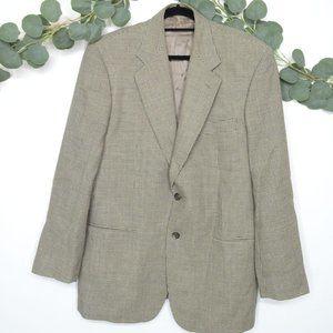 COUNTRY ROAD Men's Two Button Blazer Tan Size 42